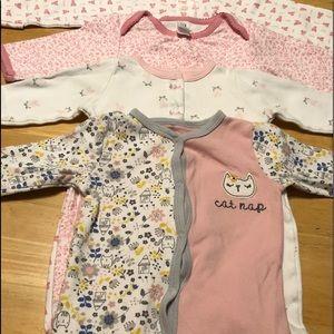 Baby Girls Bundle Set. NB - 3months